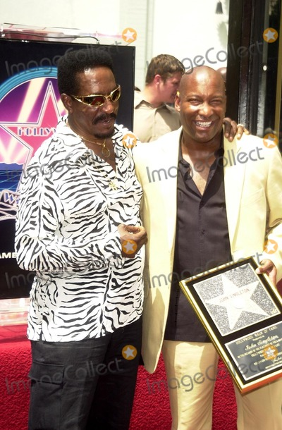 Ike Turner Photo - Ike Turner and John Singleton at Singletons induction into the Hollywood Walk of Fame Hollywood CA 08-26-03