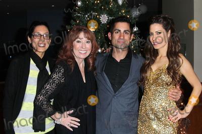 Mike Kasem Photo - Julie Kasem Linda Kasem Mike Kasem Kerri Kasemat the James Barbour Holiday Concert Renaissance Hotel Hollywood CA 12-16-11