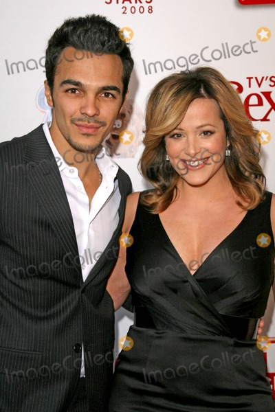 Lesley Ann Machado Photo - Shalim Ortiz and Lesley Ann Machado at TV Guides Sexiest Stars Party Katsuya and S Bar Hollywood CA 05-01-08