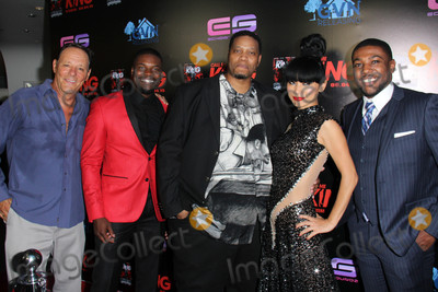 Amine Photo - Chris Mulkey Amin Joseph RL Scott Bai Ling Sean Riggsat the Call Me King Screening Downtown Independent Los Angeles CA 08-17-15