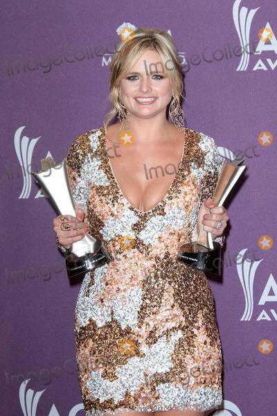 Miranda Lambert Photo - Miranda Lambertat the 47th Academy Of Country Music Awards Press Room MGM Grand Las Vegas NV 04-01-12
