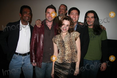 Sarah Douglas Photo - Linton Semage Jaason Simmons Sarah Lassez Douglas Dunning Gregory Hatanaka and James Duvall