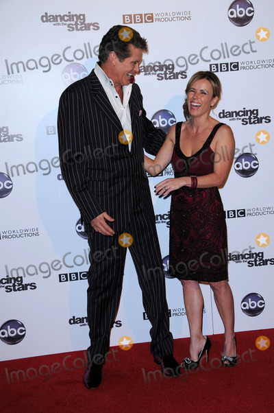 Trista Rehn Photo - David Hasselhoff and Trista Rehn at the Dancing With The Stars 200th Episode Boulevard 3 Hollywood CA 11-01-10