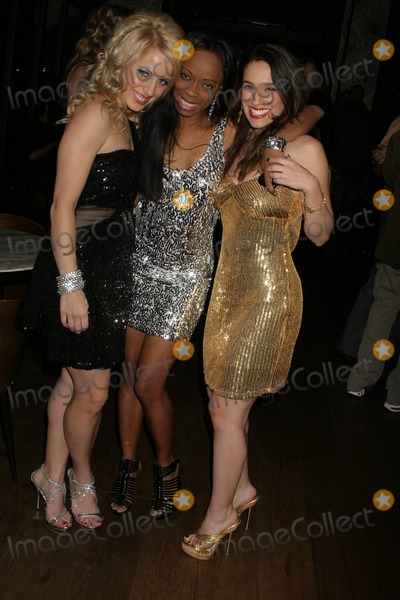 JAMIE HILFIGER Photo - Jamie Hilfiger Charmaine Blake and Christina DeRosa at Charmaine Blakes Birthday Party Cafe Roma Beverly Hills CA 01-13-10