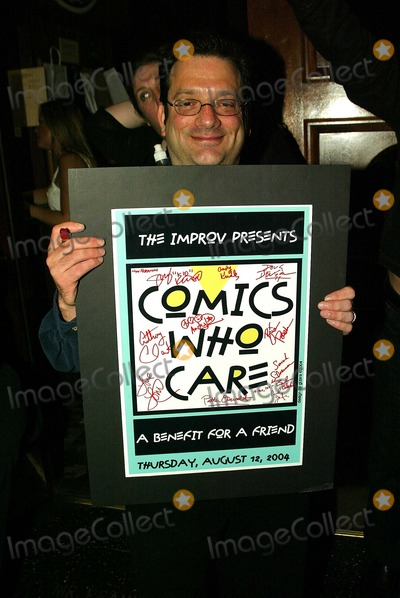 Andy Kindler Photo - Andy Kindler at Comics Who Care a charitable assemblage of comics to benefit their own in need  LA Improv Los Angeles CA 08-12-04