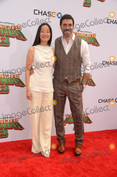 Alessandro Carloni Photo - Jennifer Yuh Nelson Alessandro Carloniat the Kung Fu Panda 3 Premiere Chinese Theater Hollywood CA 01-16-16