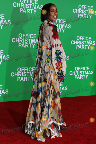 Kelly Rowland Photo - Kelly Rowlandat the Office Christmas Party Premiere Village Theater Westwood CA 12-07-16