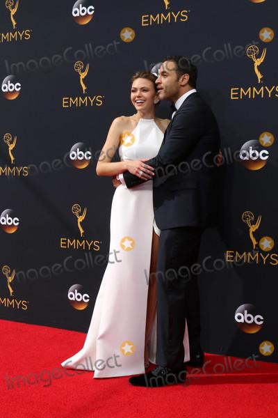 Aimee Teegarden Photo - Aimee Teegarden Daniel Sunjataat the 68th Annual Primetime Emmy Awards Arrivals Microsoft Theater Los Angeles CA 09-18-16