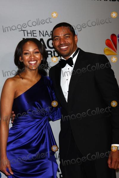 Meagan Good Photo - Meagan Good Laz Alonsoat the 44th NAACP Image Awards Press Room Shrine Auditorium Los Angeles CA 02-01-13