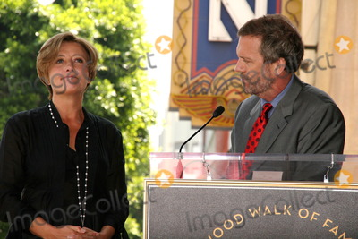 Emma Thompson Photo - Emma Thompson Hugh Laurieat the induction ceremony for Emma Thompson into the Hollywood Walk of Fame Hollywood CA 08-06-10