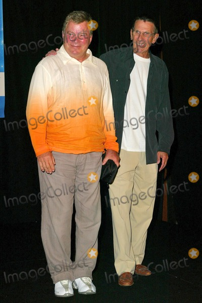 William Shatner Photo - William Shatner and Leonard Nimoy at the Beam Me Up Scotty One Last Time The James Doohan Farewell Star Trek Convention and Tribute at the Renaissance Hollywood Hotel Hollywood CA 08-29-04