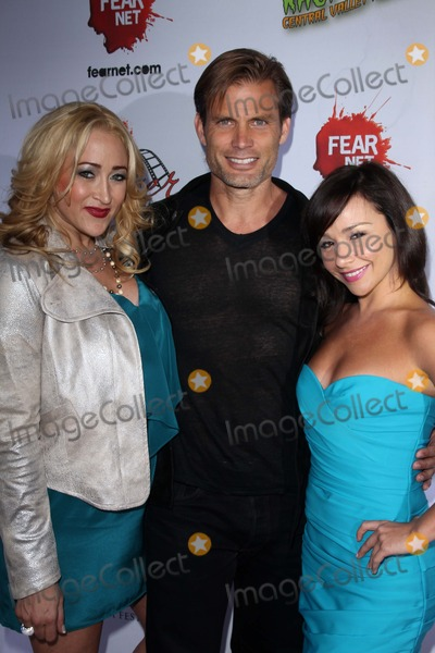 Casper Van Dien Photo - Jennifer Blanc Casper Van Dien Danielle Harrisat the Among Friends Private Preview Screening Jon Lovitz Comedy Club Universal City CA 04-17-12
