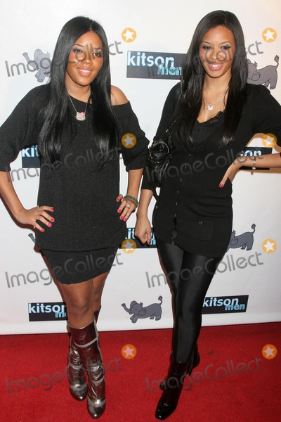 Angela Simmons Photo - Angela Simmons and Vanessa Simmonsat the Christopher Brian Resort Collection Launch Party presented by Kitson Men Kitson Men West Hollywood CA 12-04-07