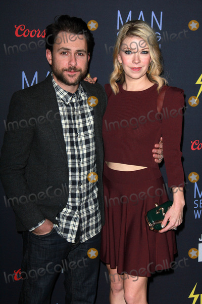 Charlie Day Photo - Charlie Day Mary Elizabeth Ellisat the FXX Premieres of Its Always Sunny In Philadelphia and Man Seeking Woman DGA Los Angeles CA 01-13-15