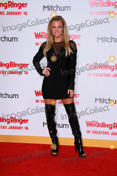 Nikki Leigh Photo - Nikki Leighat The Wedding Ringer World Premiere TCL Chinese Theater Hollywood CA 01-06-15