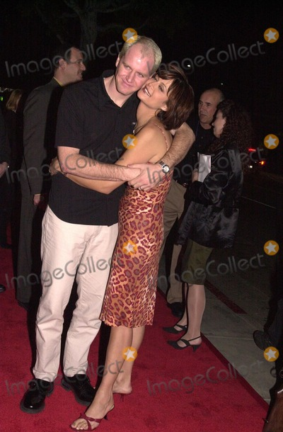 Adam Beason Photo -  Catherine Bell and husband Adam Beason at the JAG 100th Episode Party Spago 02-07-00