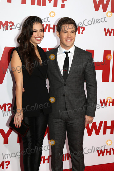 Adam DeVine Photo - Chloe Bridges Adam Devineat the Why Him Premiere Bruin Theater Westwood CA 12-17-16
