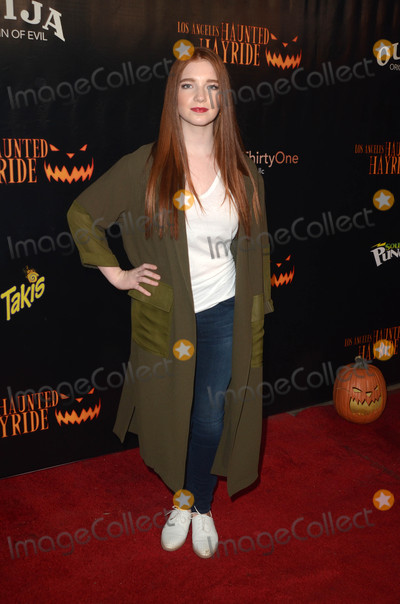 Annalise Basso Photo - Annalise Bassoat the Los Angeles Haunted Hayride 8th Annual VIP Black Carpet Event Griffith Park Los Angeles CA 10-09-16
