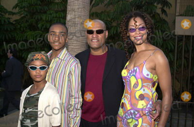 Photos and Pictures - LAURENCE FISHBURNE,SON LANGSTON, DAUGHTERlangston fishburne