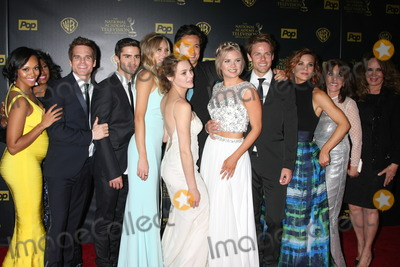 Melissa Ordway Photo - Mischel Morgan Greg Rikaart Max Erlich Melissa Ordway Hunter King Matthew Atkinson Kelli Goss Lachlan Buchanan Gina Tognoni Kate Linder Cathering Bach at the 2015 Daytime Emmy Awards Press Room at the Warner Brothers Studio Lot on April 26 2015 in Los Angeles CA Copyright David Edwards  DailyCelebcom 818-249-4998