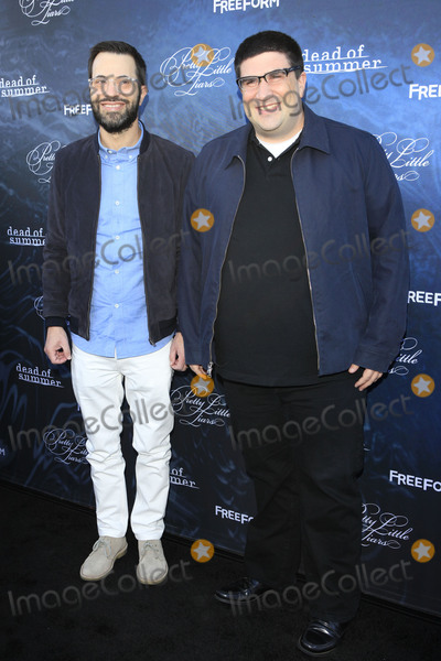 Adam Horowitz Photo - LOS ANGELES - JUN 15  Edward Kitsis Adam Horowitz at the Pretty Little Liars Seaon 7 Premiere and Dead of Summer Premeire at the Hollywood Forever Cemetary on June 15 2016 in Los Angeles CA
