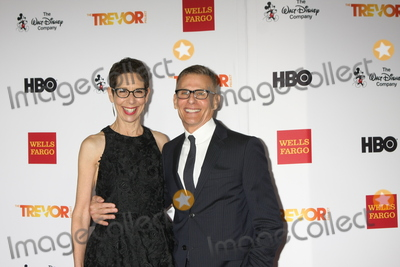Abbe Land Photo - LOS ANGELES - DEC 6  Abbe Land Michael Lombardo at the TrevorLIVE Gala at the Hollywood Palladium on December 6 2015 in Los Angeles CA