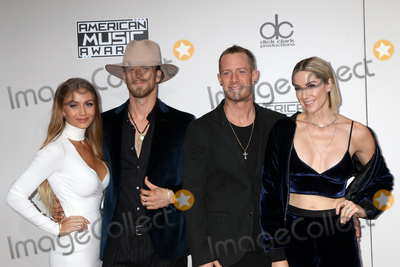 Brian Kelley Photo - LOS ANGELES - NOV 20  Hayley Stommel Hubbard Tyler Hubbard Brian Kelley Brittney Marie Cole Kelley at the 2016 American Music Awards at Microsoft Theater on November 20 2016 in Los Angeles CA