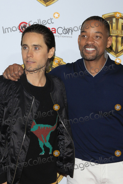 Jared Leto Photo - LAS VEGAS - APR 12  Jared Leto Will Smith at the Warner Bros Pictures Presentation at CinemaCon at the Caesars Palace on April 12 2016 in Las Vegas CA