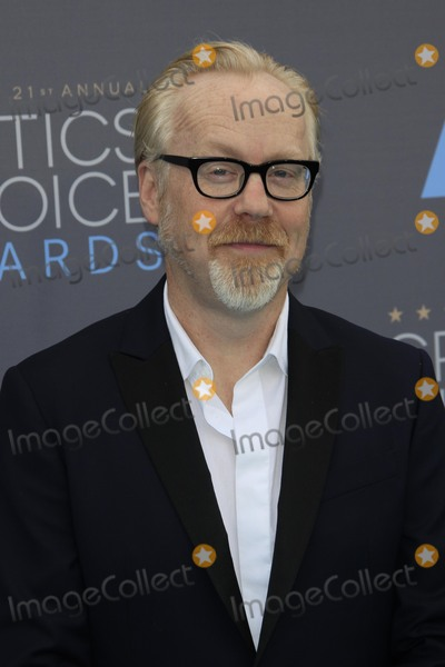 Adam Savage Photo - LOS ANGELES - JAN 17  Adam Savage at the 21st Annual Critics Choice Awards at the Barker Hanger on January 17 2016 in Santa Monica CA