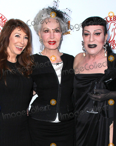 Cassandra Peterson Photo - LOS ANGELES - OCT 17  Cassandra Peterson Julie Newmar Jody Arias at the Elvira Mistress Of The Dark Coffin Table Book Launch at Roosevelt Hotel on October 17 2016 in Los Angeles CA