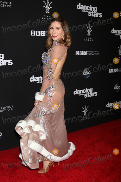 Allison Holker Photo - LOS ANGELES - NOV 22  Allison Holker at the Dancing With The Stars Live Finale at The Grove on November 22 2016 in Los Angeles CA