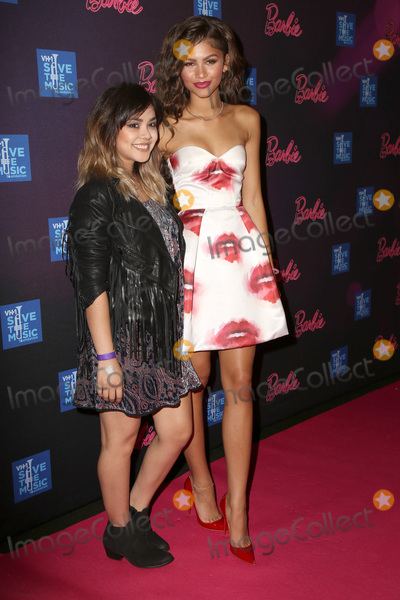 Alyssa Bernal Photo - LOS ANGELES - SEP 26  Alyssa Bernal Zendaya Coleman at the Barbie Rock N Royals Concert Experience  at the Hollywood Palladium on September 26 2015 in Los Angeles CA