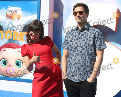 Andy Samberg Photo - LOS ANGELES - SEP 17  Katie Crown Andy Samberg at the Storks Premiere at the Village Theater on September 17 2016 in Westwood CA