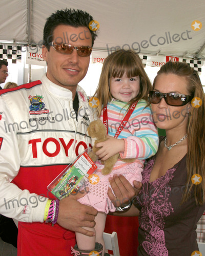 Antonio Sabato Jr Photo - Antonio Sabato Jr and Son Jackdaughter and girlfriendToyota Grand Prix ProCeleb RaceLong Beach CAApril 8 2006