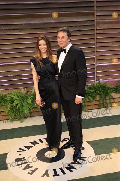 ELON MUSK Photo - LOS ANGELES - MAR 2  Talulah Riley Elon Musk at the 2014 Vanity Fair Oscar Party at the Sunset Boulevard on March 2 2014 in West Hollywood CA