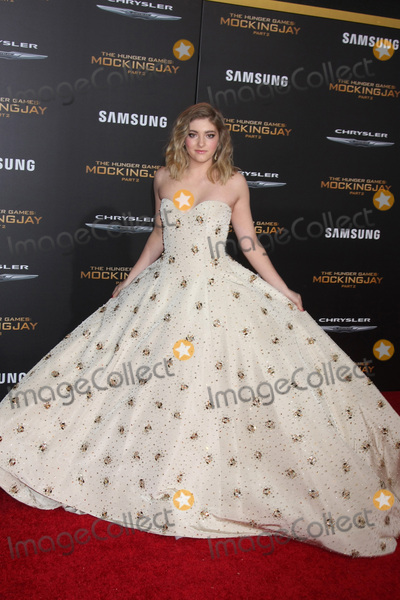 Willow Shields Photo - LOS ANGELES - NOV 16  Willow Shields at the The Hunger Games -Mockingjay Part 2 LA Premiere at the Microsoft Theater on November 16 2015 in Los Angeles CA