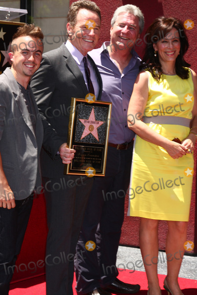 Frankie Muniz Photo - LOS ANGELES - JUL 16  Frankie Muniz Bryan Cranston Producer Jane Kaczmarek at the Hollywood Walk of Fame Star Ceremony for Bryan Cranston at the Redbury Hotel on July 16 2013 in Los Angeles CA