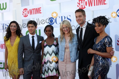 Justin Hartley Photo - LOS ANGELES - JUL 29  Necar Zadegan Michael Rady Aja Naomi King Mamie Gummer Justin Hartley Kelly McCreary arrives at the CBS CW and Showtime 2012 Summer TCA party at Beverly Hilton Hotel Adjacent Parking Lot on July 29 2012 in Beverly Hills CA