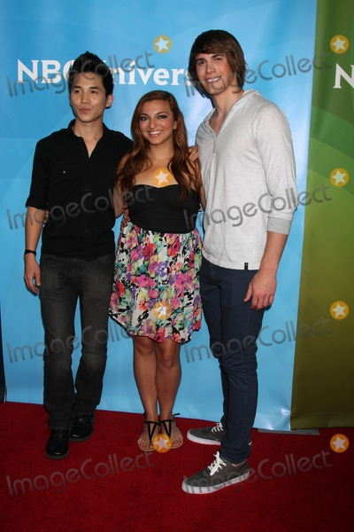 Abraham Lim Photo - LOS ANGELES - JUL 25  Abraham Lim Aylin Bayramuglu Blake Jenner arrives at the NBC Universal Cable TCA Summer 2012 Press Tour at Beverly Hilton Hotel on July 25 2012 in Beverly Hills CA