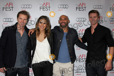 Thad Luckinbill Photo - LOS ANGELES - NOV 8  Trent Luckinbill Molly Smith Thad Luckinbill Yann Demange at the AFI FEST 2014 Photocall at the TCL Chinese 6 Theaters on November 8 2014 in Los Angeles CA