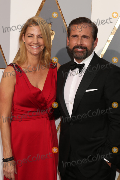 Steve Carell Photo - LOS ANGELES - FEB 28  Nancy Carell Steve Carell at the 88th Annual Academy Awards - Arrivals at the Dolby Theater on February 28 2016 in Los Angeles CA