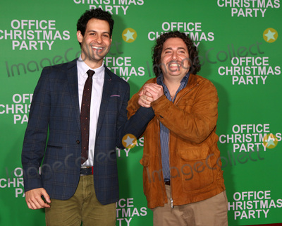 Andrew Leeds Photo - LOS ANGELES - DEC 7  Andrew Leeds Oliver Cooper at the Office Christmas Party Premiere at Village Theater on December 7 2016 in Westwood CA