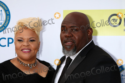 Tamela Mann Photo - LOS ANGELES - FEB 11  Tamela Mann David Mann at the 48th NAACP Image Awards Arrivals at Pasadena Conference Center on February 11 2017 in Pasadena CA