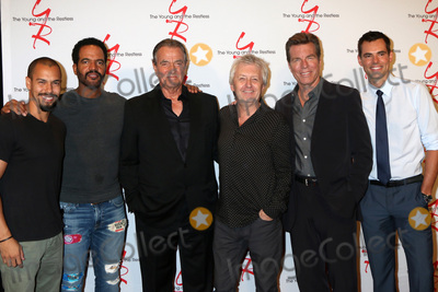 Peter Bergman Photo - LOS ANGELES - SEP 8  Bryton James Kristoff St John Eric Braeden Mal Young Peter Bergman Jason Thompson at the Young and The Resltless 11000 Show Celebration at the CBS Television City on September 8 2016 in Los Angeles CA