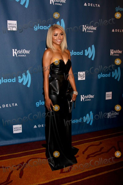 Kat Graham Photo - LOS ANGELES - APR 20  Kat Graham arrives at the 2013 GLAAD Media Awards at the JW Marriott on April 20 2013 in Los Angeles CA