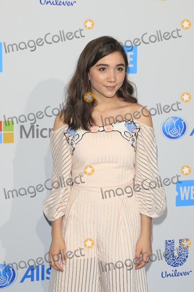 Rowan Blanchard Photo - LOS ANGELES - APR 7  Rowan Blanchard at the WE Day California 2016 at the The Forum on April 7 2016 in Inglewood CA