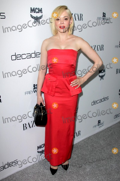 Rose Mc Gowan Photo - LOS ANGELES - FEB 28  Rose McGowan arrives at the Harpers Bazaar Celebrates The Launch Of The Dukes of Melrose Event at the Sunset Tower on February 28 2013 in West Hollywood CA