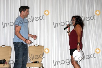 Daniel Goddard Photo - LOS ANGELES - AUG 25  Daniel Goddard Fan doing a scene from a YnR script at the Goddard and Khalil Fan Event at the Universal Sheraton Hotel on August 25 2013 in Los Angeles CA