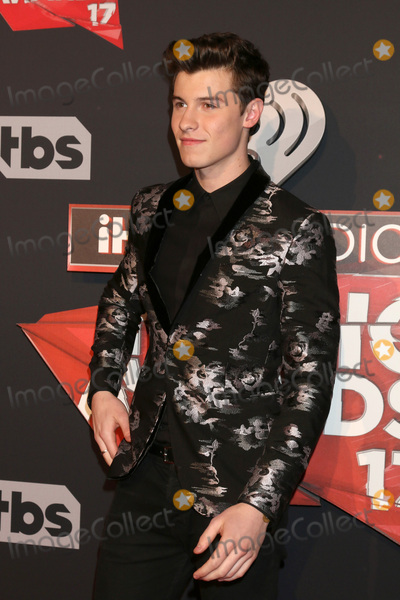 Shawn Mendes Photo - LOS ANGELES - MAR 5  Shawn Mendes at the 2017 iHeart Music Awards at Forum on March 5 2017 in Los Angeles CA