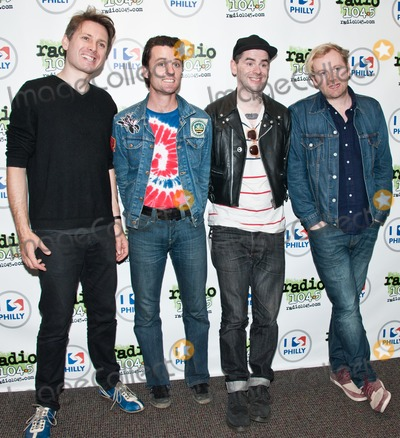 Alex Kapranos Photo - BALA CYNWYD PA - OCTOBER 19  (L to R) Alex Kapranos Nick McCarthy Paul Thomson and Robert Hardy of Scottish Indie Rock Band Franz Ferdinand Pose at Radio 1045s Performance Theatre on October 19 2013 in Bala Cynwyd Pennsylvania (Photo by Paul J FroggattFamousPix)